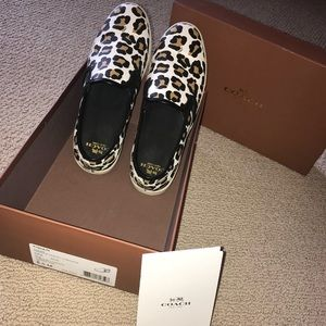 COPY - COACH Cheetah Slip-on Shoes